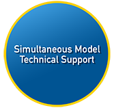 Simultaneous Model Technical Support Button